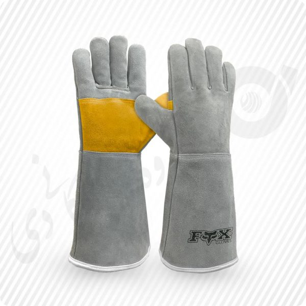 دستکش جوشکاری ، دستکش چرمی ، دستکش چرم