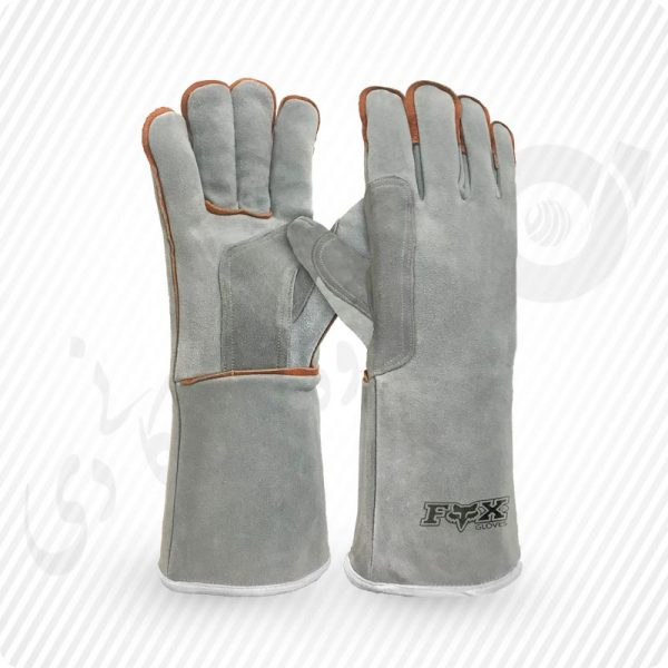 دستکش جوشکاری ، دستکش چرمی ، دستکش تمام چرم ، دستکش کار جوشکاری ، دستکش چرمی جوشکاری